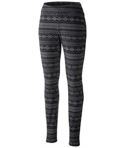 Columbia Glacial Baselayer Pants Black Fairisle Print