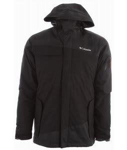 Columbia Hells Mountain Interchange Ski Jacket Black/Lumberjack Plaid/Black