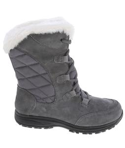 Columbia Ice Maiden Lace Boots Pewter/Blue Coral