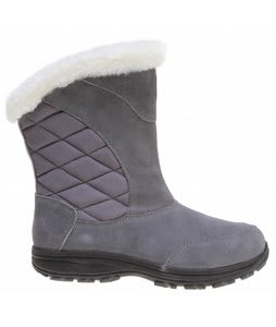 Columbia Ice Maiden Slip Boots Pewter/Bright Rose