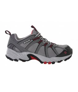 Columbia Kaibab Hiking Shoes Charcoal/Chili