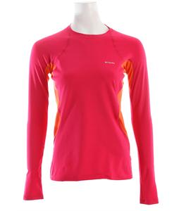Columbia Midweight L/S Baselayer Top Bright Rose