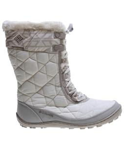 Columbia Minx Mid II Omni-Heat Print Boots Winter White/Silver Sage