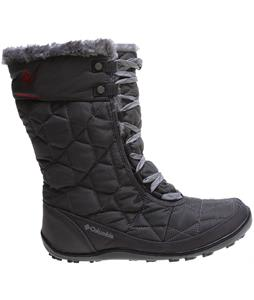 Columbia Minx Mid II Omni-Heat Boots Shale/Bright Red