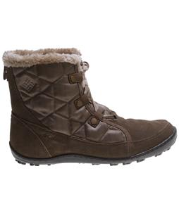 Columbia Minx Shorty Omni-Heat Herringbone Boots Pebble/Oxford Tan