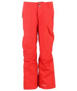 Columbia Modern Mountain 2.0 Ski Pants Red Hibiscus