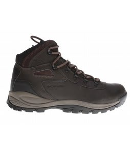 Columbia Newton Ridge Plus Mid Shoes Cordovan/Treasure
