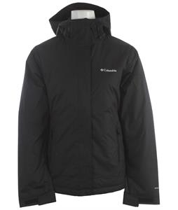 Columbia Peak Jacket Black/Echo Emboss