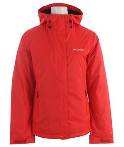 Columbia Peak Jacket Red Hibiscus/Echo Emboss