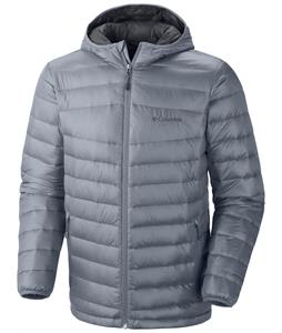 Columbia Platinum 860 Turbodown Hooded Jacket Tradewinds Grey