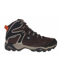 Columbia Pole Creek Omni Tech Hiking Shoes Stout/Burnt Orange