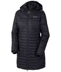 Columbia Powder Pillow Long Jacket Black