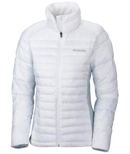 Columbia Powder Pillow Hybrid Jacket White/Mirage