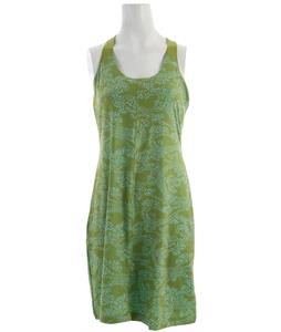 Columbia Prima Agua Dress Green Tea Windy Waters Print
