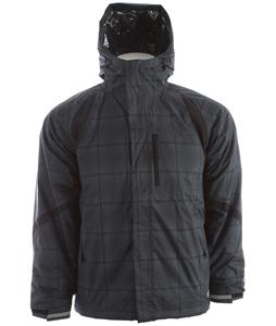 Columbia Renegade Warmth Ski Jacket Black Ombre Plaid