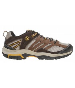 Columbia Shasta Ridge Low Hiking Shoes Dune/Golden Hew
