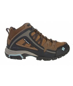 Columbia Shastalavista Omni Lthr Mid Hiking Shoes Morell Shimmer