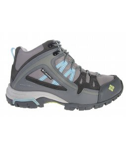 Columbia Shastalavista Omni Mid Hiking Shoes Lt Grey/Voltage