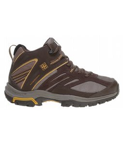 Columbia Shasta Ridge Mid Omni-Tech Hiking Boots Bungee Cord
