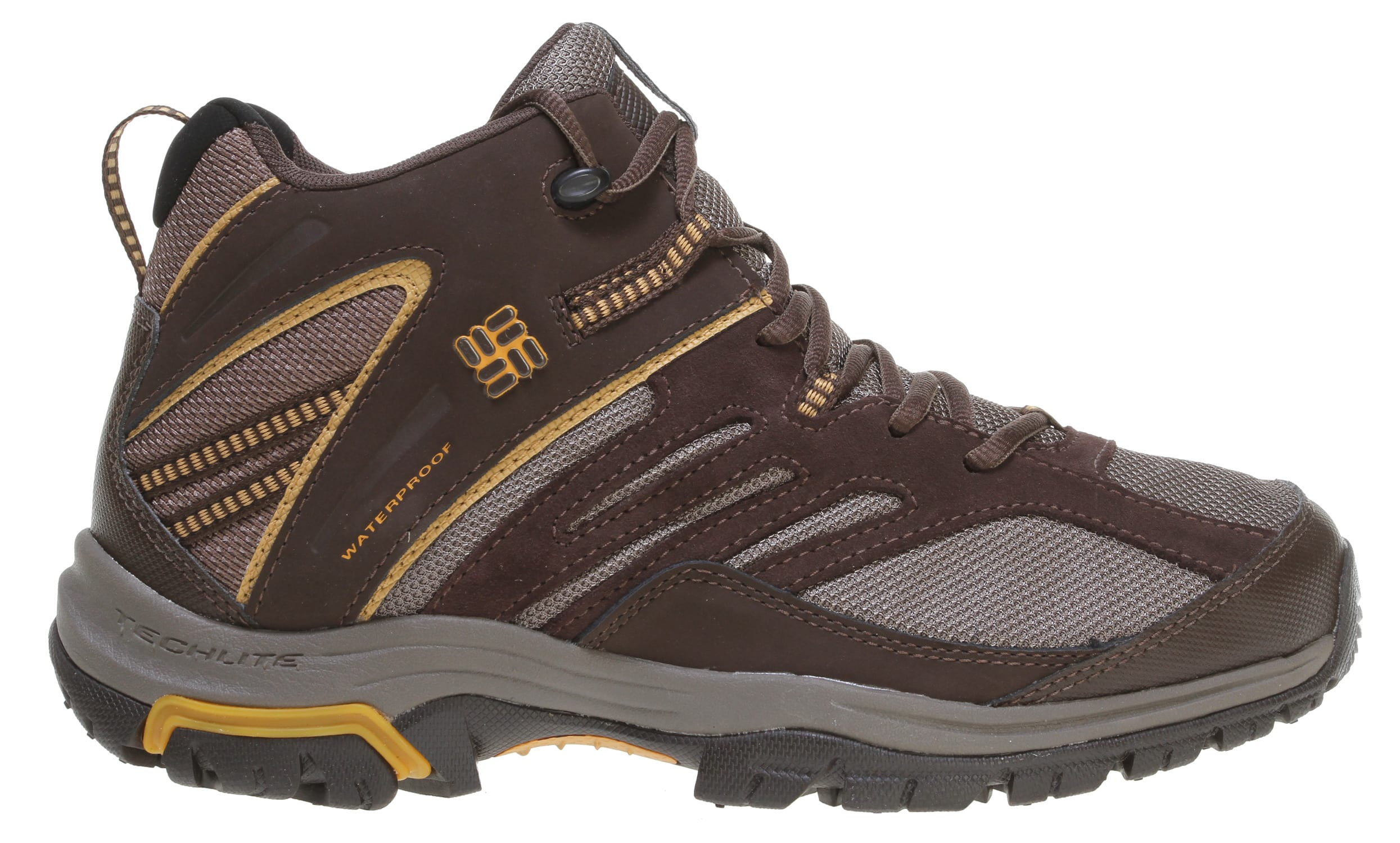 Shop for Columbia Shasta Ridge Mid Omni-Tech Hiking Boots Bungee Cord - Men's