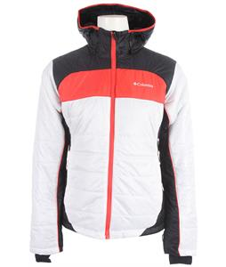 Columbia Shimmer Flash Jacket White/Abyss/Red Hibiscus