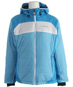 Columbia Shimmer Flash Jacket Riptide/Dark Compass/White