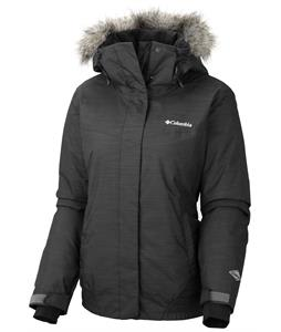 Columbia Shimmerlicious Ski Jacket Black Metallic