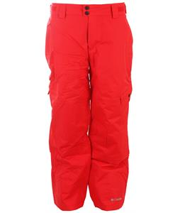 Columbia Snow Gun Ski Pants Bright Red