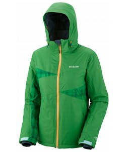 Columbia Snowcalypse Ski Jacket Fuse Green/Fuse Green Plaid