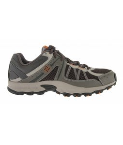 Columbia Switchback Hiking Shoes Black Olive/Russet Orange