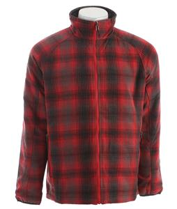 Columbia Two Lives Reversible Jacket Red Velvet Plaid