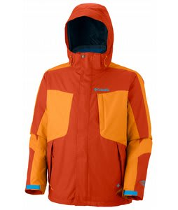 Columbia Whirlibird II Interchange Ski Jacket Autumn Orange/Solarize