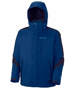 Columbia Whirlibird II Interchange Ski Jacket Royal/Ebony Blue