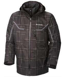 Columbia Whirlibird Ski Jacket Black Print/Graphite
