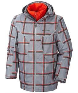 Columbia Whirlibird Ski Jacket Tradewinds Grey Plaid/Graphite