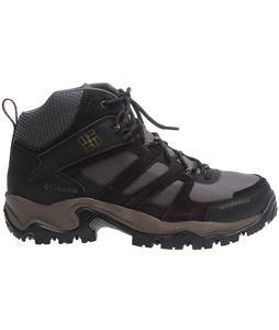 Columbia Woodburn Mid Waterproof Hiking Boots Mud/Toast