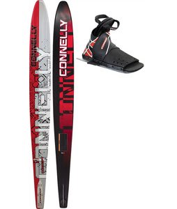 Connelly Concept Slalom Waterskis 68 w/ Stroker/Rtp Bindings