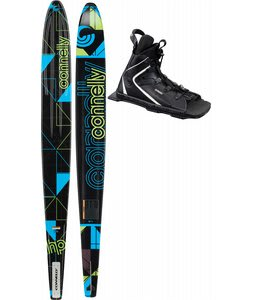Connelly HP Slalom Waterskis 70 w/ Nova/Adj Rtp Bindings