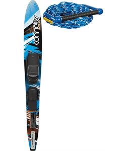 Connelly Shortline Ski 67 w/ Front Adj Velcro/Rts Bindings + Rope