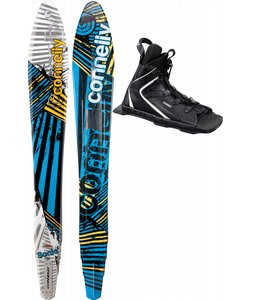 Connelly Sonic Slalom Waterskis 65 w/ Nova/Adj Rtp Bindings