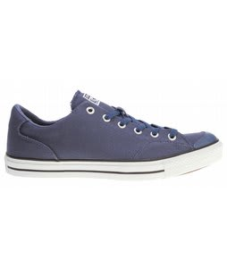 Converse CT LS Skate Shoes Dark Denim/White