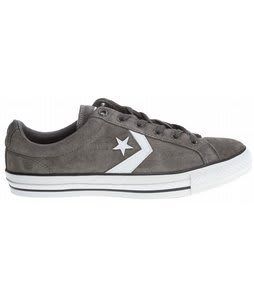 Converse Star Player LS Skate Shoes Charcoal/Black/White
