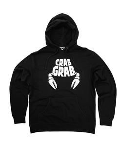 Crabgrab Classic Hoodie Black