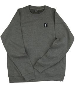 Crab Grab Claw Label Crew Sweatshirt