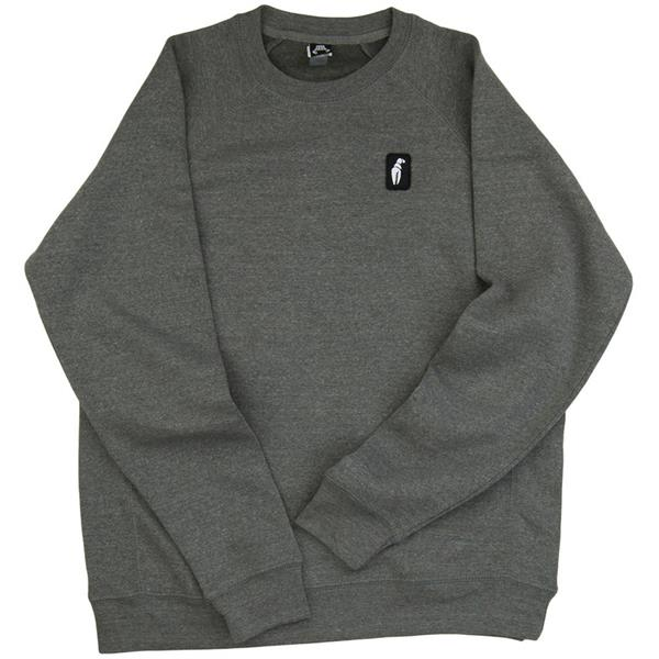 Crab Grab Claw Label Crew Sweatshirt