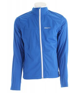 Craft PXC Softshell Cross Country Ski Jacket Sweden Blue/White