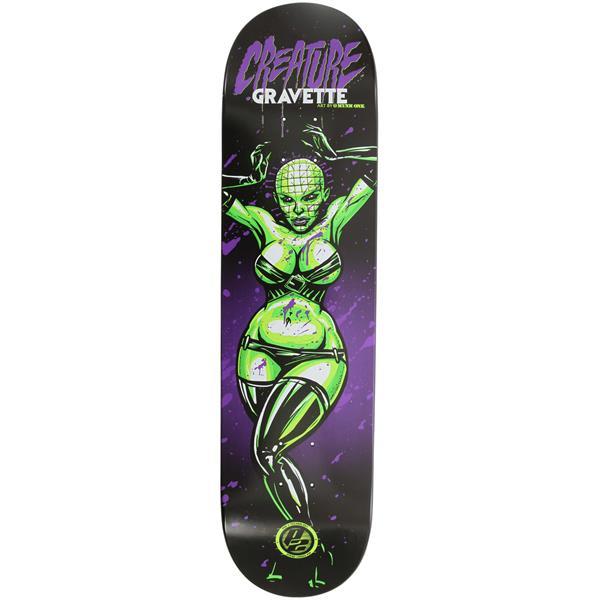 Creature Gravette Horror Babes P2 Skateboard