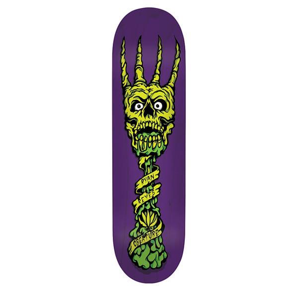 Creature Reyers Fork You Pro Skateboard Deck