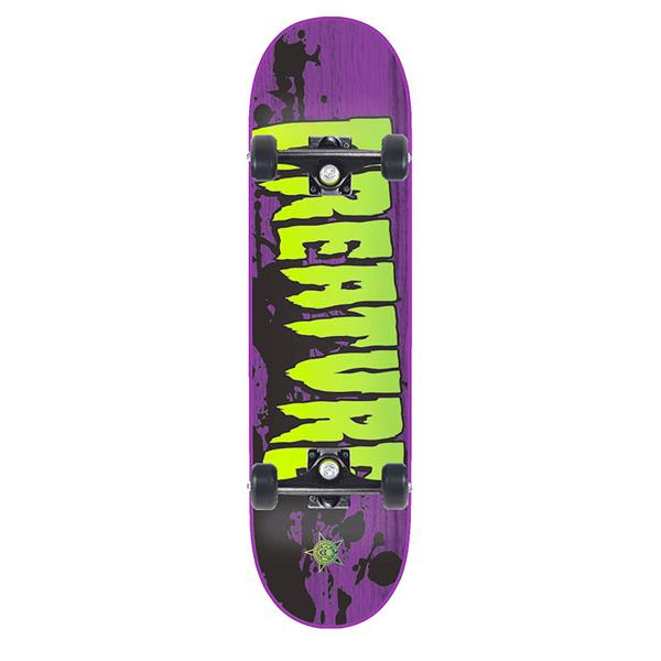 Creature Stained Skateboard Complete
