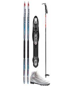 Madshus Megasonic Wmns Classic XC Ski Package